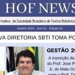 Nova Diretoria SBTI Toma Posse – HOF NEWS – Janeiro 2019 – Ano 01 – Edição 01