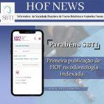 Parabéns a todos que contribuem com o crescimento da HOF e da SBTI.
